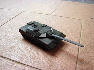 Soedirman Battle Tank Papercraft