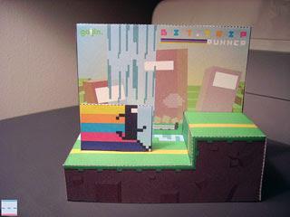 BIT.TRIP RUNNER Papercraft