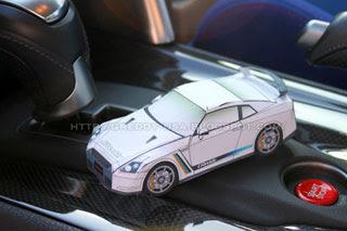 Nissan GTR R35 Papercraft