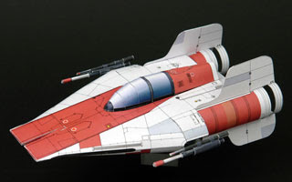 A-wing Starfighter Papercraft