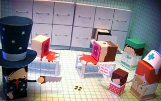 Magic Trick Papercraft