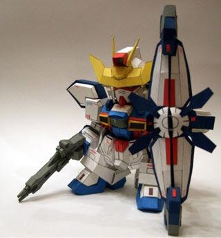 SD Gundam X Divider Papercraft