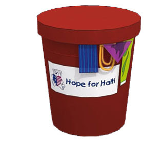Hope for Haiti Papercraft