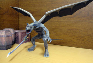 Light Gargoyle Papercraft