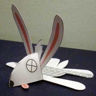 Woadkill Wabbit Papercraft