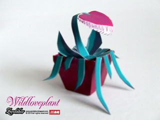Venus Flytrap Papercraft Plant
