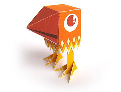 Birdie Papercraft