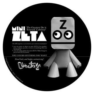 Mini Zeta Paper Toy