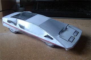 Ferrari Modulo Papercraft