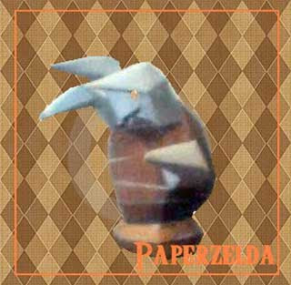 MOle Mitts Papercraft