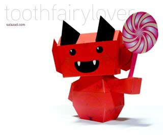 Tooth Fairy Lover Papercraft