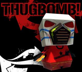 ThugBomb Paper Toy
