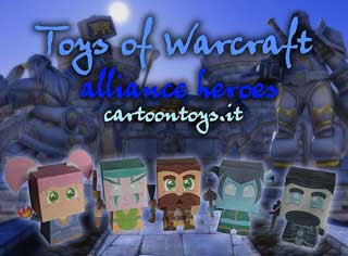 Cartoontoys Warcraft Horde Papercraft