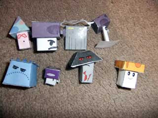 Plants Vs Zombies Papercraft Night Plants