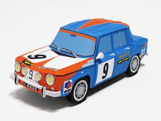 Renault 8 Gordini Papercraft