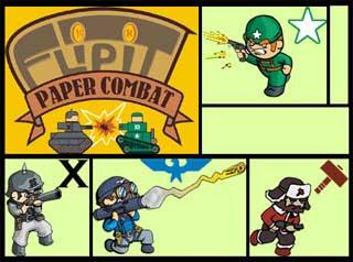 Flipit Combat Papercraft