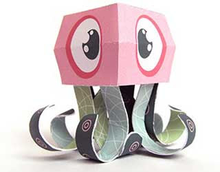 Octobert Paper Toy
