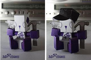 MrHSieh Paper Toy