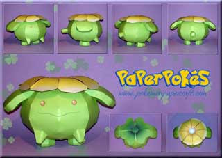 Pokemon Skiploom Papercraft