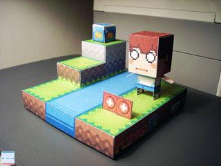 Flipper Papercraft