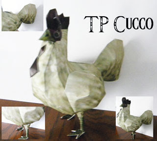 Cucco Papercraft