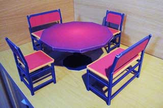 Mabinogi Dining Table Set Papercraft
