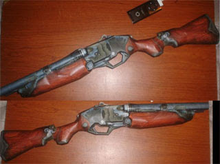 Super Shotgun Papercraft