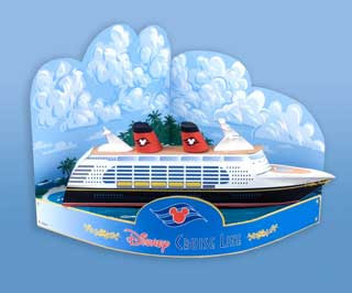 Castaway Cay Ship Papercraft