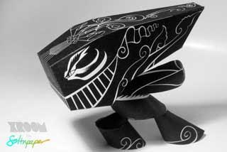Xroom Paper Toy