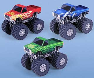 Monster Truck Papercraft