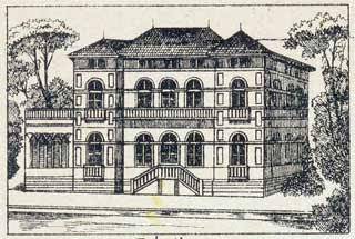 Venetian Villa Papercraft