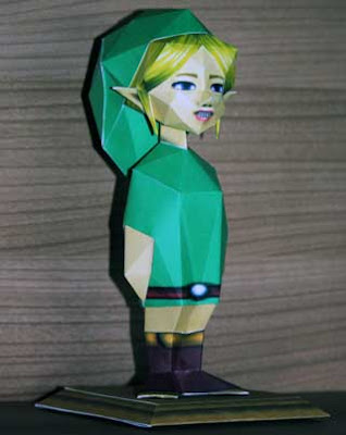 Elegy of Emptiness Link Papercraft