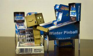 Pinball Machine Papercraft