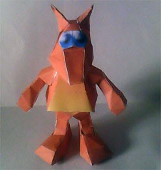 Jinjo Papercraft