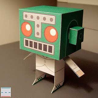 Mr. Destructoid Papercraft