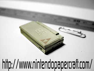 Nintendo DS Lite Papercraft