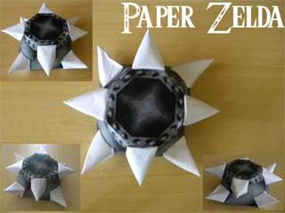 Blade Trap Papercraft 2