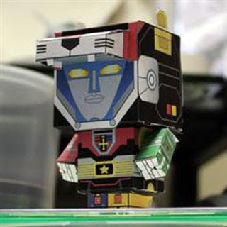 Cubee Voltron Papercraft
