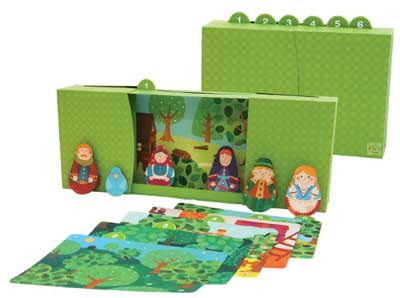 Hansel and Gretel Picture Book Papercraft