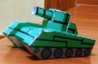 Asturo Tr Mini Tank Papercraft