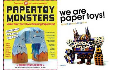 Paper Toy Books 2010