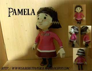 Majoras Mask Pamela Papercraft