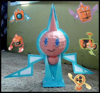 Pokemon Rotom Papercraft