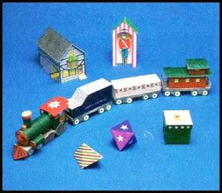 The Christmas Kit Papercraft Models