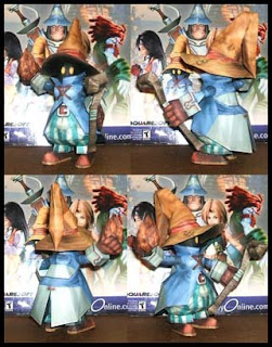 Final Fantasy Vivi Papercraft