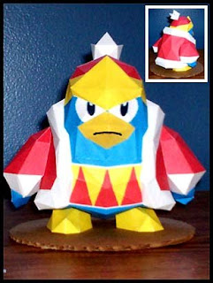 King Dedede Papercraft