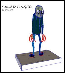 Salad Fingers Papercraft