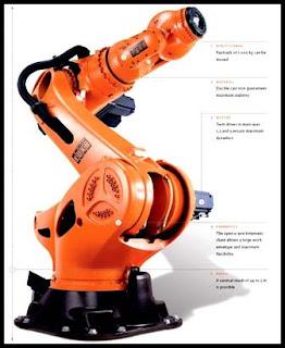 KUKA Industrial Robot Papercraft