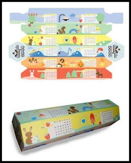 2009 Papercraft Calendar