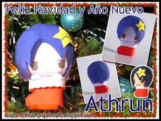 Gundam SEED Athrun Zala Papercraft